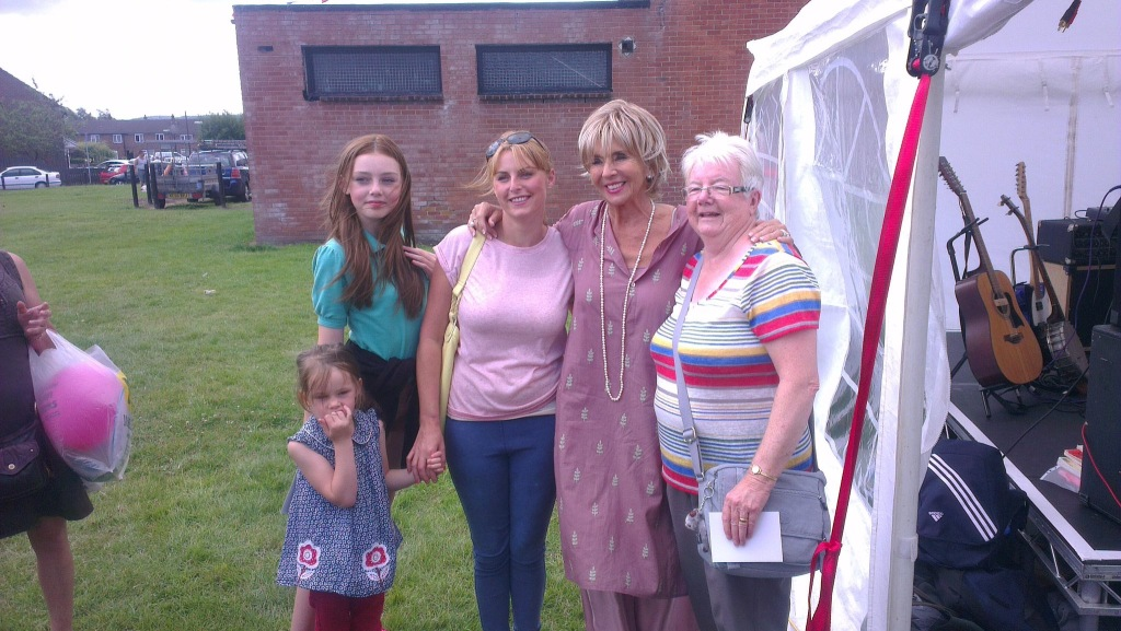 Actress Sue Johnson opened Shevington Fete in 2013!